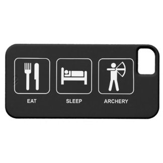 Eat Sleep Archery iPhone SE/5/5s Case
