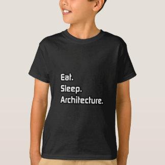 Eat. Sleep. Architecture. T-Shirt