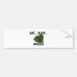 Eat Sleep ARUGULA Car Bumper Sticker