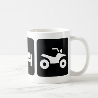 Eat Sleep ATV Classic White Coffee Mug
