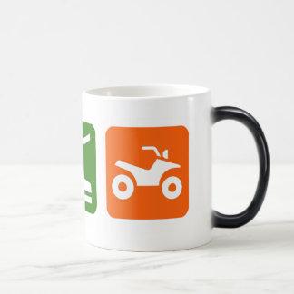 Eat Sleep ATV Magic Mug