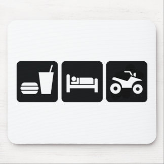 Eat Sleep ATV Mouse Pad