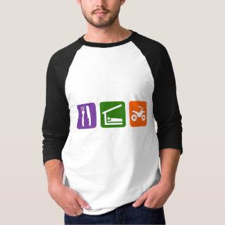 Eat Sleep ATV T Shirt