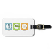 Eat Sleep Audit! Luggage Tag