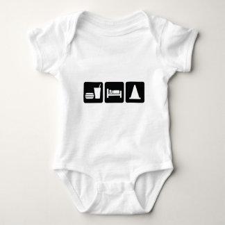 Eat Sleep AutoX Baby Bodysuit