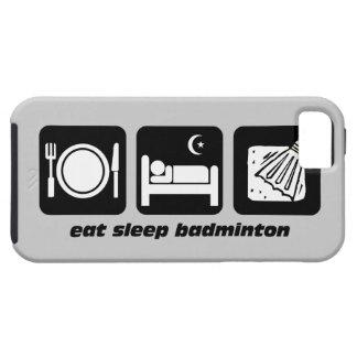 eat sleep badminton iPhone SE/5/5s case