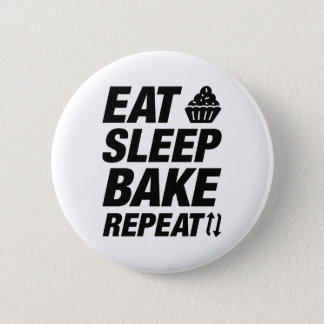 Eat Sleep Bake Repeat Button