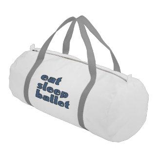 eat sleep ballet gym bag