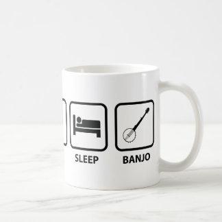 Eat Sleep Banjo Classic White Coffee Mug