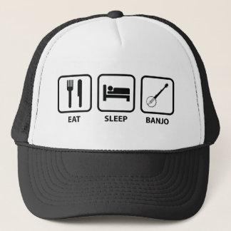 Eat Sleep Banjo Trucker Hat