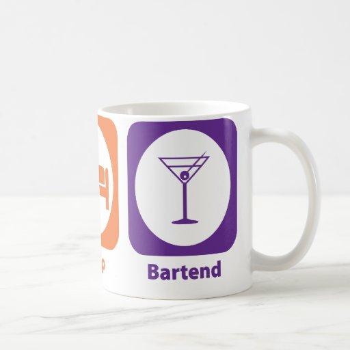 Eat Sleep Bartend Mug