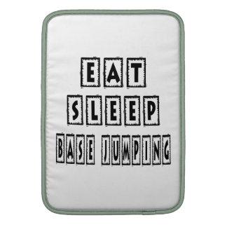 Eat Sleep BASE JUMPING Sleeve For MacBook Air
