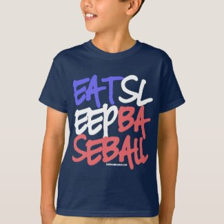 Eat Sleep Baseball 4 T-Shirt
