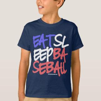 Eat Sleep Baseball 4 T-Shirt