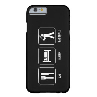 Eat Sleep Baseball Barely There iPhone 6 Case