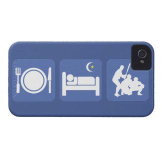 eat sleep baseball iPhone 4 cover
