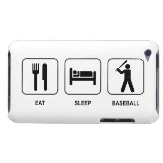 Eat Sleep Baseball iPod Touch Cases