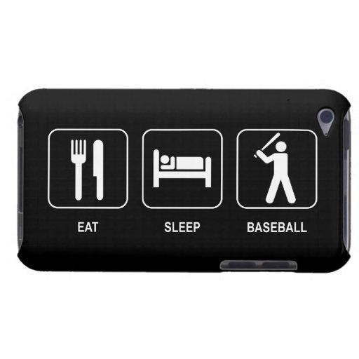 Eat Sleep Baseball Case-Mate iPod Touch Case