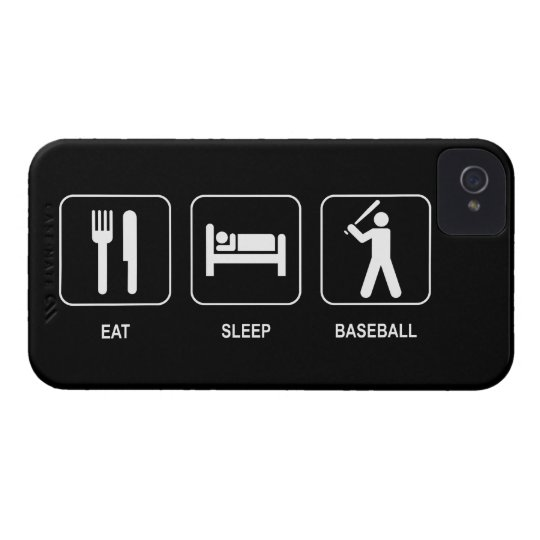 Eat Sleep Baseball iPhone 4 Cover