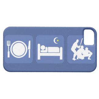 eat sleep baseball iPhone 5 case