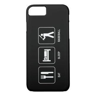 Eat Sleep Baseball iPhone 7 Case