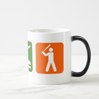 Eat Sleep Baseball Magic Mug