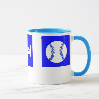 Eat, Sleep, Baseball mug