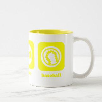 Eat. Sleep. Baseball. Mug