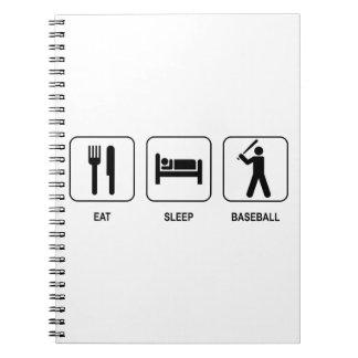Eat Sleep Baseball Notebook