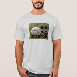 eat. sleep. baseball. T-Shirt