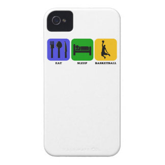 Eat Sleep Basketball Case-Mate iPhone 4 Cases