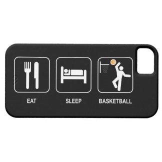 Eat Sleep Basketball iPhone 5 Cover
