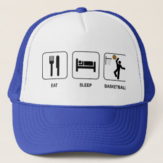 Eat Sleep Basketball Hat