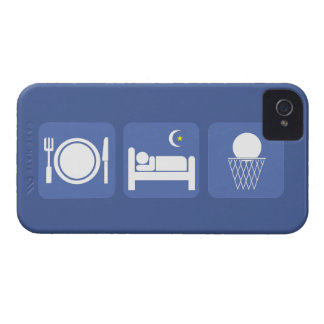 eat sleep basketball iPhone 4 Case-Mate case