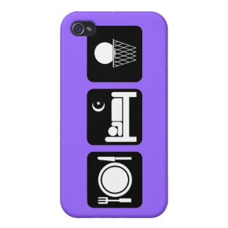 eat sleep basketball cases for iPhone 4