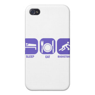 Eat Sleep Basketball Cover For iPhone 4