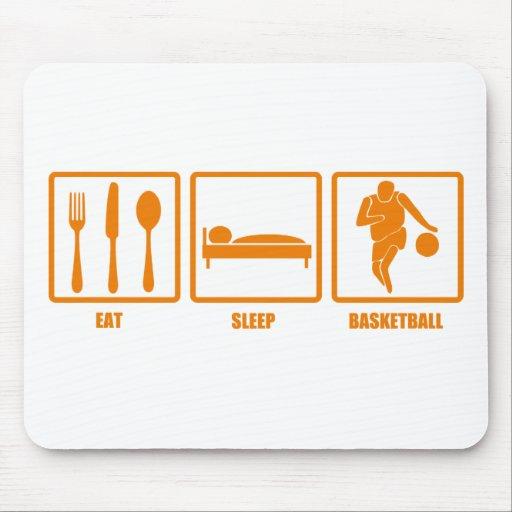 Eat Sleep Basketball Mouse Pad