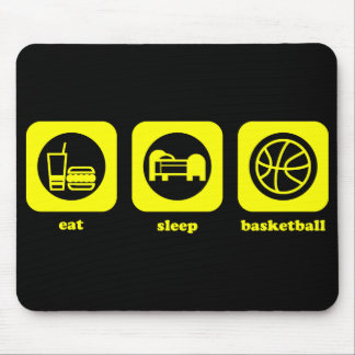 Eat. Sleep. Basketball. Mousepad