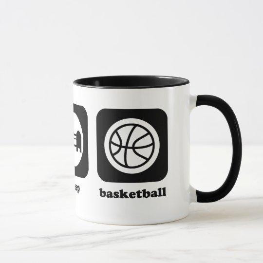 Eat. Sleep. Basketball. Mug