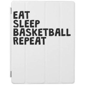 Eat Sleep Basketball Repeat iPad Cover