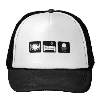 eat sleep basketball trucker hat