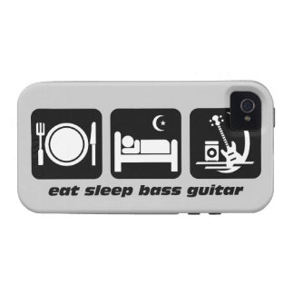 eat sleep bass guitar Case-Mate iPhone 4 case