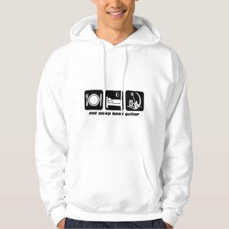 eat sleep bass guitar sweatshirt