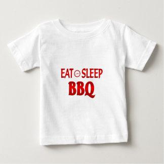 Eat Sleep BBQ Baby T-Shirt