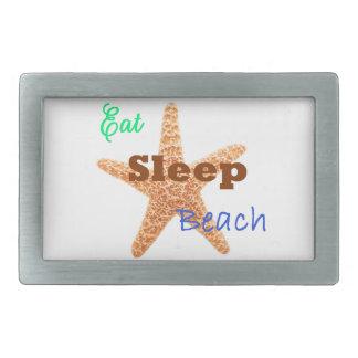 Eat Sleep Beach - Belt Buckle