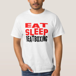 Eat Sleep Beatboxing T-Shirt
