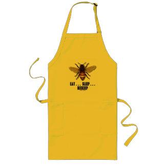 Eat ... Sleep ... Beekeep (Bee) Long Apron