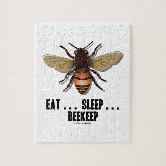 Eat ... Sleep ... Beekeep (Bee) Puzzles