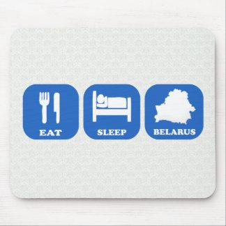 Eat Sleep Belarus Mouse Pad