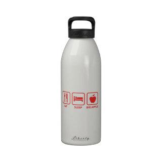 Eat Sleep Big Apple Water Bottles